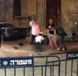 משטרה ירושלים פיגוע 1